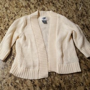 Worn 1x Girl's 12-18 Month Old Navy Sweater